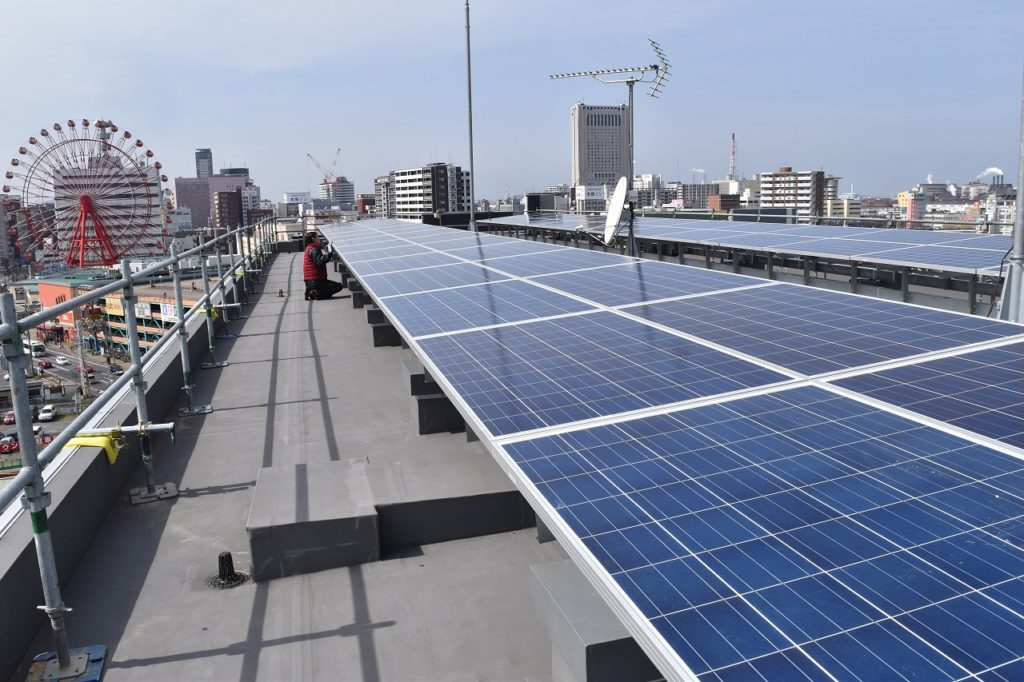 太陽光発電設備(※注:EV充電設備とは非連動)